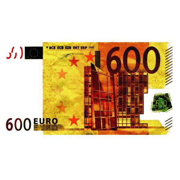 Nº 121 Billete de 600€ con vídeo explicativo