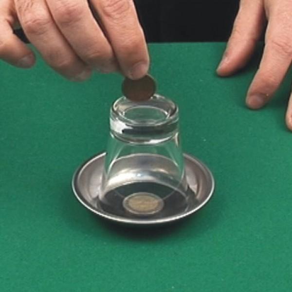 Nº 263 Moneda a través del vaso con vídeo explicativo