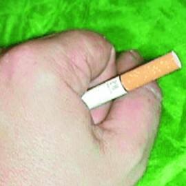 Nº 54 Desaparición de un Cigarrillo