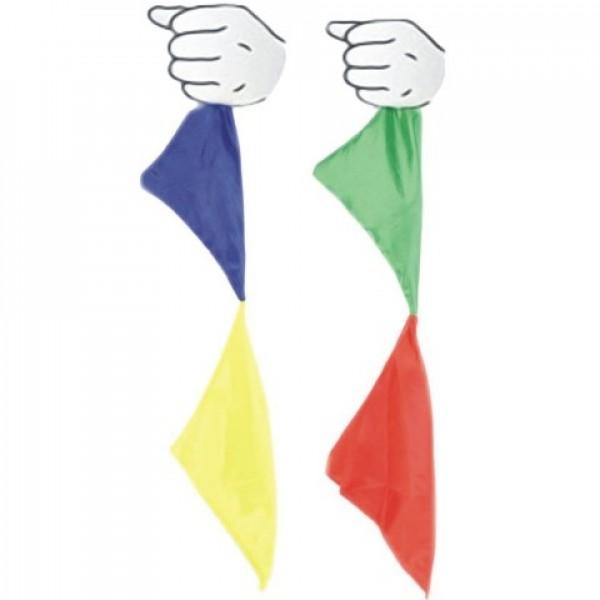 Nº 58 Pañuelos cambio de color seda con vídeo explicativo