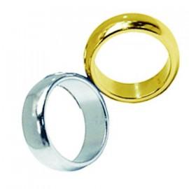 Anillo magnético de oro 19 mm.