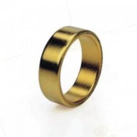Anillo magnético oro 1.9 cm. china