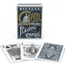 Bicycle capitol playing card