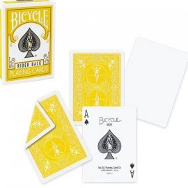 Bicycle standard amarilla