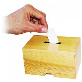 Caja para forzar papeletas