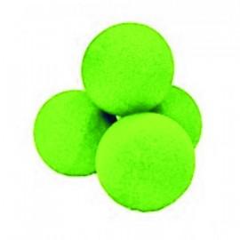 Bolas de 7.50 cm. rojas baja densidad 4 uni. colores variados