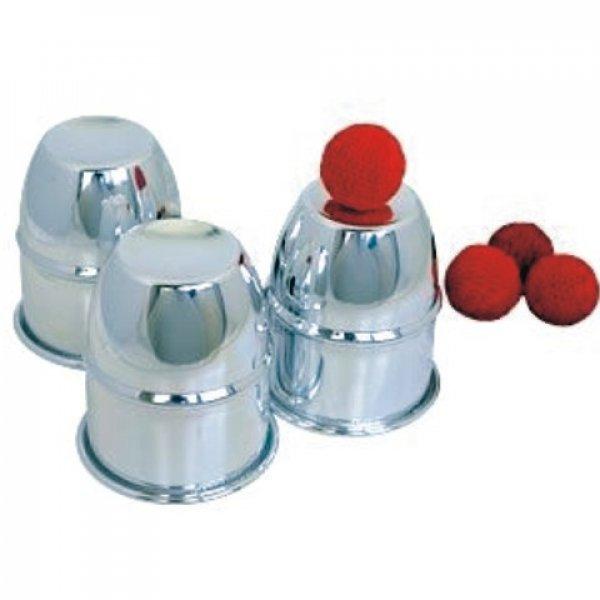 Cubiletes de aluminio y bolas