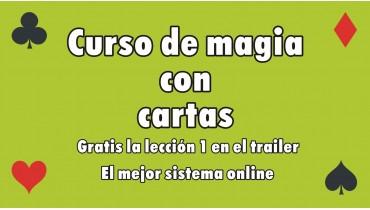 Curso online de cartomagia