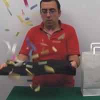El viaje del cubo desintegrado con vídeo explicativo
