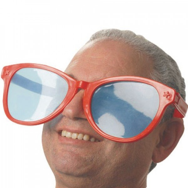 Gafas de sol gigantes
