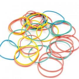 75 Elásticos de colores para magia