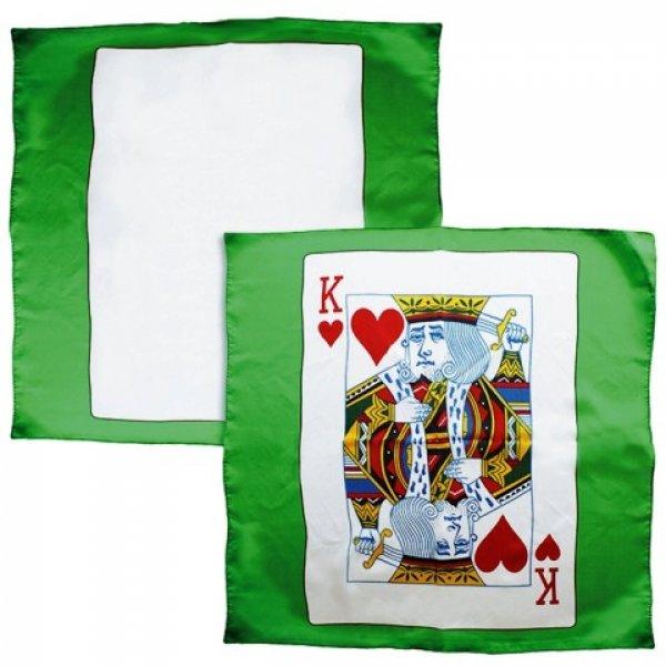 Set de carta en el pañuelo 60 X 60 cm.