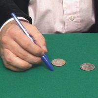 Las monedas pintadas