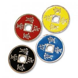 Conjunto de monedas chinas