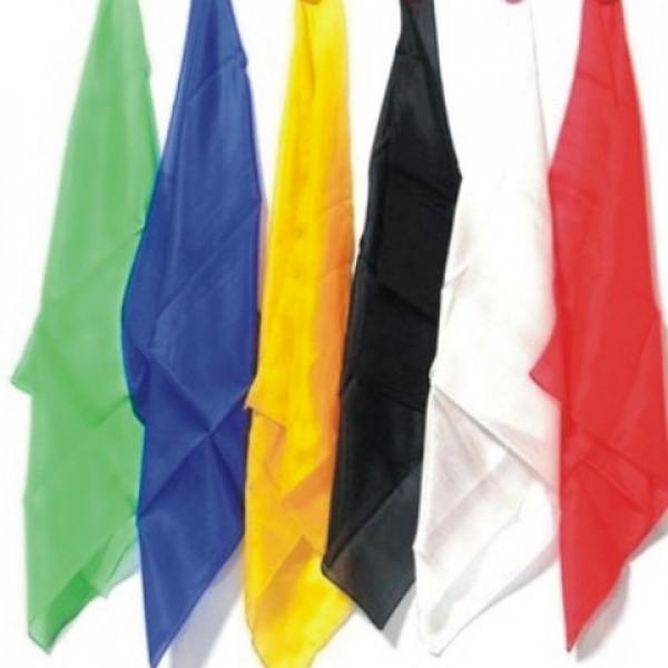 Pañuelos de seda de 45 X 45 Cm.