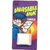 Polvos para hacer tinta invisible