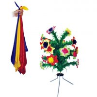 Producción de flores de los pañuelos
