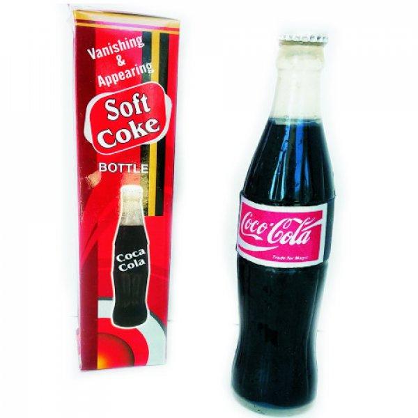 Botella de cocacola  desaparición