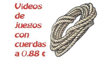 Vídeos de juegos con cuerdas